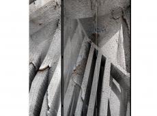 Paraván - Beton 3D [Room Dividers]